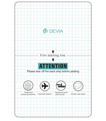 Devia DV0074 Intelligent TPU Soft Protector Front Film For iPad Протектор