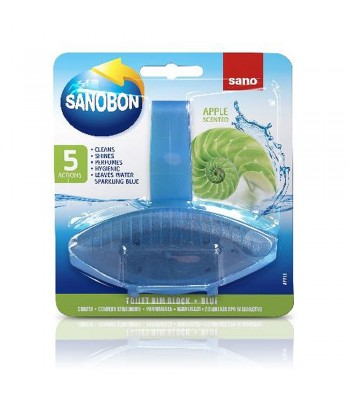 Sano Sanobon Apple Scented 5 в 1 Препарат за тоалетна чиния
