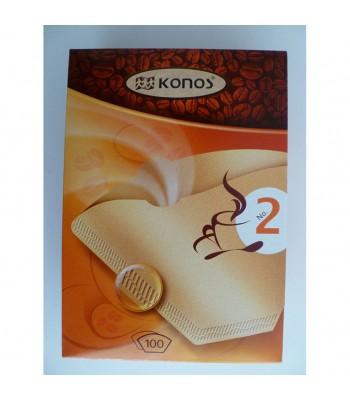 Toni K2 №2 Хартиен филтър за кафеварка