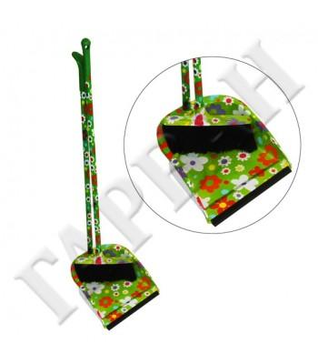 Garvan DA8177-01 метла с лопата зелен