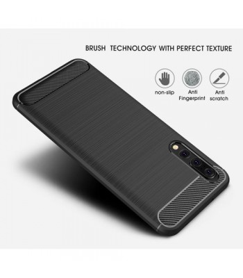 Apple iPhone 11 Pro Max TPU Carbon Fiber black