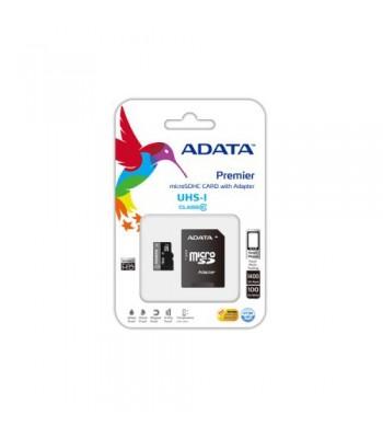 Adata MicroSDHC 16GB class 10 + адаптер