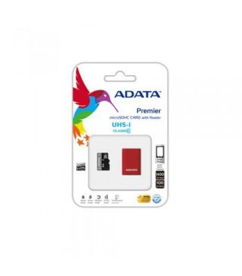Adata MicroSDHC 16GB class 10 + card reader