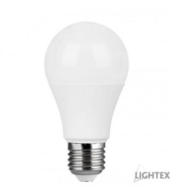Lightex 170AL0000136 A60 9W 220V E27 NW 4000K 810lm Електрическа крушка