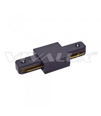 Vivalux VIV004073 Link I/BK Конектор за релса за осветление