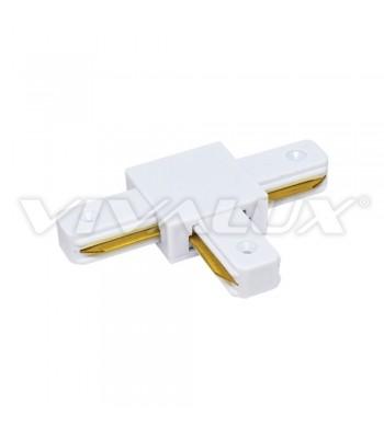 Vivalux VIV004076 Link T/WH Конектор за релса за осветление