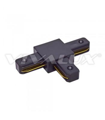 Vivalux VIV004077 Link T/BK Конектор за релса за осветление