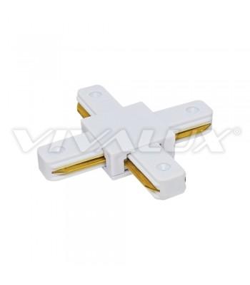 Vivalux VIV004078 Link X/WH Конектор за релса за осветление