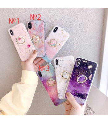Apple iPhone 11 Pro Max TPU Brillante Stars Pop Socket 1