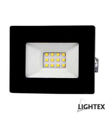 Lightex 504AL0011031 Vini 220V 10W IP65 CW6500K Black LED Прожектор