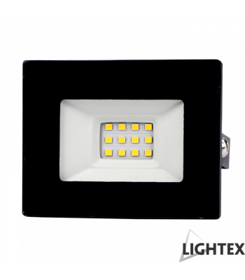 Lightex 504AL0011036 Vini 220V 20W IP65 CW6500K Black LED Прожектор