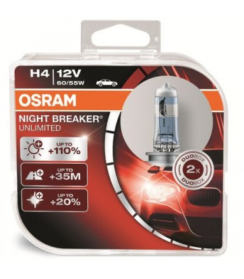 Osram 64193 H4 Night Breaker 12V 60/55W