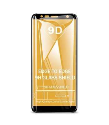 Huawei P40 Lite 9D Full Glue Glass Black Протектор