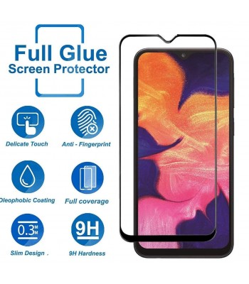 Samsung A10 11D Full Glue Glass Black Протектор