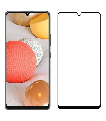Samsung A42 5G Full Glue Glass Black Протектор