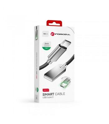 Forcell S1-096361 USB AM to Type-C M 3.0 Smart 2,4A c803 1m. Кабел