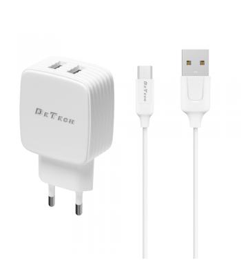 De Tech DE-33M 40100 Micro USB Зарядно