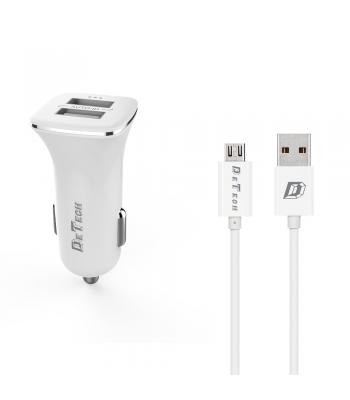 De Tech DE-C01M Micro USB 12-24V 2,4A Зарядно